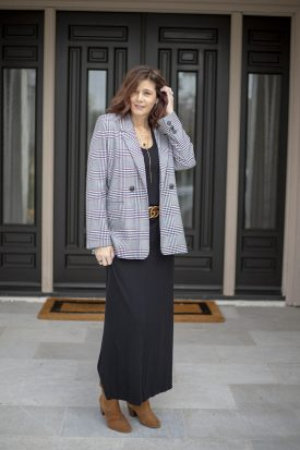 Six Ways to Style a Plaid Blazer