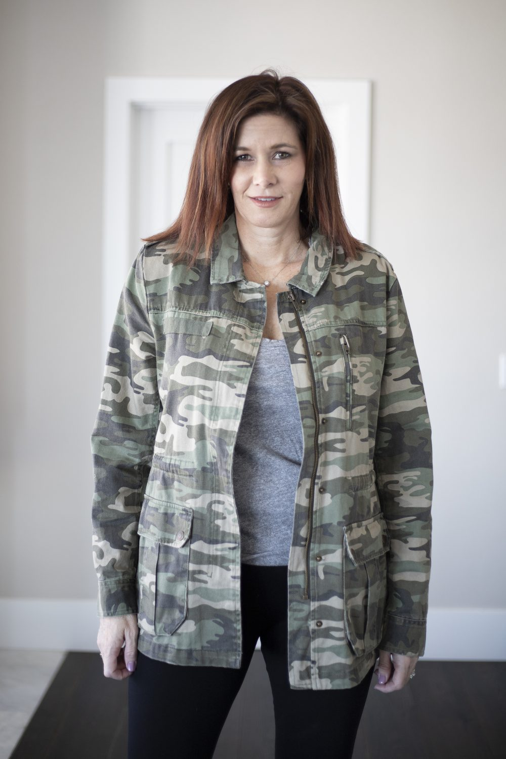 Sanctuary Camo Utility Jacket