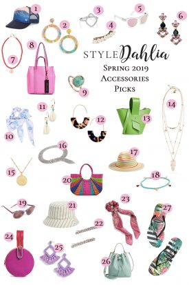 Spring 2019 Accessories Picks