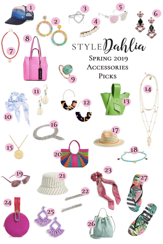 Top Picks Spring Accessories
